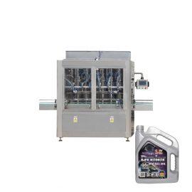 1l-5l Riempitrice di liquido automatica elettrica a 4 teste per olio lubrificante a pistone per bottiglia