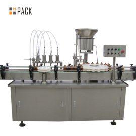 Grande capacità del riempitore e della tappatrice del profumo di vuoto 5-100ML con il posizionatore della valvola