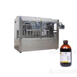 Linea di riempimento della bottiglia del liquido della medicina veterinaria / linea della macchina di rifornimento del liquido corrosivo