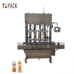 Ampia gamma di riempimento della macchina riempitrice della testa 10 per fluidi a bassa / alta viscosità