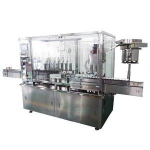 Riempimento e tappatrice automatici dello sciroppo capo 8 per la linea di produzione farmaceutica