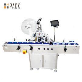 Etichettatrice autoadesiva piana elettrica, etichettatrice del cartone / lattina / borsa