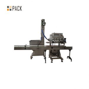 Lavare la tappatrice per bottiglie in linea liquida 200 CPM con telaio resistente