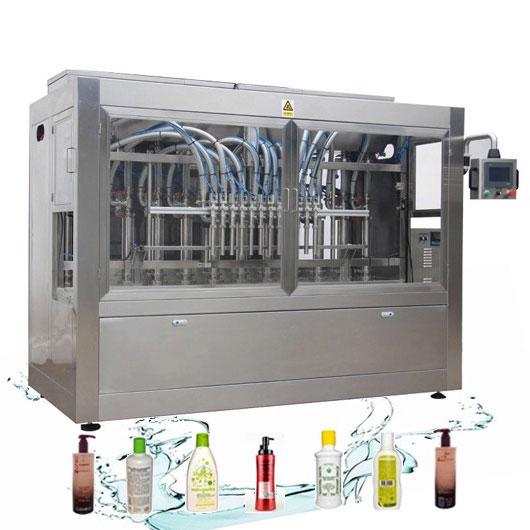 Linea di rifornimento liquida automatica resistente alla corrosione Riempitrice del detersivo di lavanderia