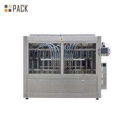Macchina di rifornimento automatica per pasta con controllo PLC per sapone liquido / lozione / shampoo 250ML-5L