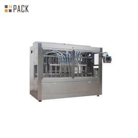 Riempitrice e tappatrice liquide dell'imbottigliatrice / gel per capelli del metallo