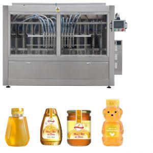 Linea di riempimento per vasche di miele con controllo PLC Linea di riempimento per liquidi automatica Standard GMP