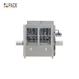 Linea di riempimento olio commestibile 1L-5L con macchina di rifornimento servo, macchina termoretraibile avvolgitore manica