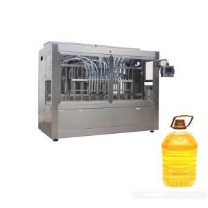 Linea di riempimento liquida automatica industriale con la riempitrice a pistone e l'etichettatrice automatica della bottiglia