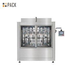 Riempitore ad alta tecnologia verticale della macchina di rifornimento liquida automatica di alta precisione per candeggina / acido