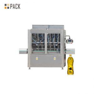 Macchina di rifornimento lineare automatica del pistone di controllo del servomotore di 8 teste di 30-80 B / MIN per 0,5-5L