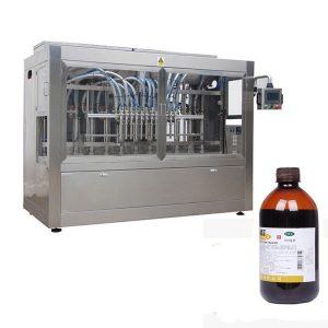 Completamente automatico-pesticidi-Bottle-riempimento-Line
