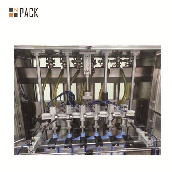 Riempitrice liquida per crema pneumatica per riempimento di bottiglie