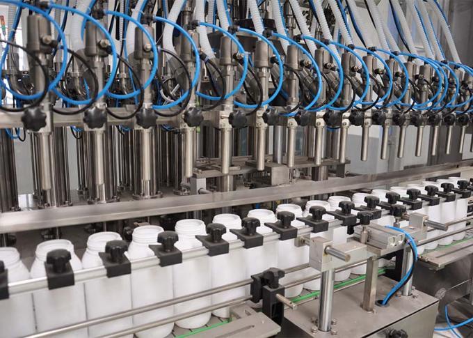 Lo SpA controlla la linea della macchina di rifornimento del detersivo di lavanderia con alta efficienza di produzione