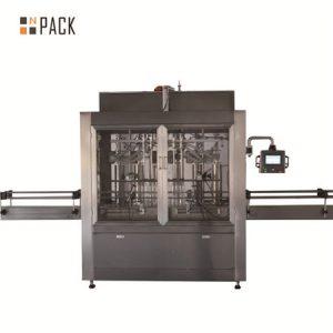 Riempitrice automatica per l'imballaggio di olio inceppato con pasta liquida