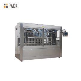 Imbottigliatrice liquida automatica con la linea di produzione dell'etichettatura tappante