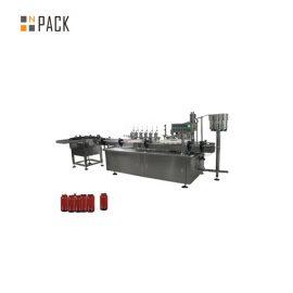 Riempitrice per pasta con controllo servomotore, riempitrice per crema cosmetica da 5g-100g