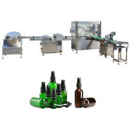 Riempitrice e tappatrice automatica monoblocco, tappatrice di riempimento liquida dello spruzzo