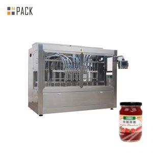 Imbottigliatrice commerciale di concentrato di pomodoro
