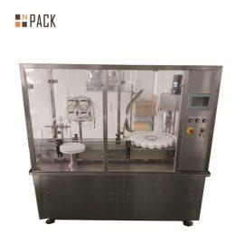 Riempitrice automatica di bottiglie con fiala con riempimento per pompa peristaltica
