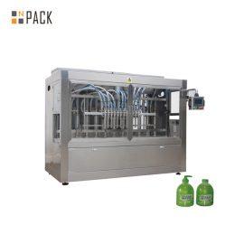 Macchina di rifornimento liquida ad alta viscosità a 16 pistoni per ugello per sapone liquido / lozione 100ml-1L