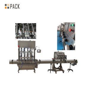 Tappatrice elettrica a crimpare rotativa 6 della tappatrice ROPP per le bottiglie di alluminio del cappuccio