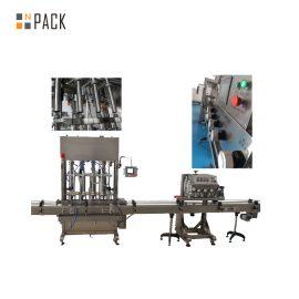 Premi Spingi sulla tappatrice automatica della bottiglia 8 teste per olio commestibile / talco